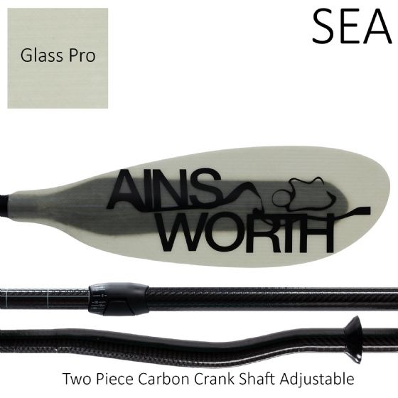 SEA (Glass Pro) Two Piece Carbon Crank Shaft Adjustable